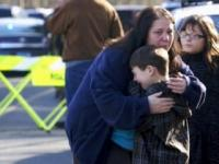 News video: US school shooting: 20 children among 28 killed
